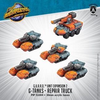 Monsterpocalypse G.U.A.R.D. G-Tanks & Repair Truck 1