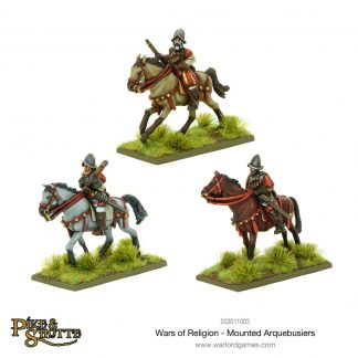 Mounted Arquebusiers 1