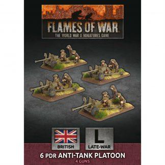 British 6 pdr Anti-Tank Platoon 1