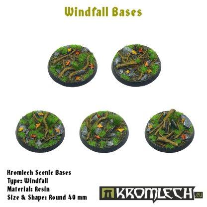 Windfall round 40mm (5) 1