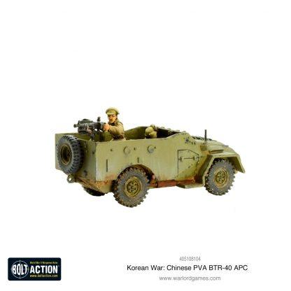Korean War: Chinese PVA BTR-40 APC 4