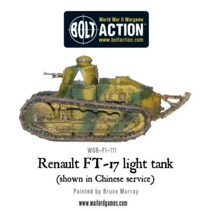 French Renault FT-17 light tank 3
