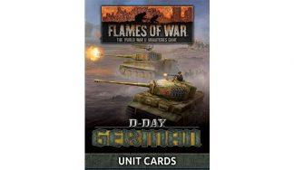 D-Day - German Unit Cards 1