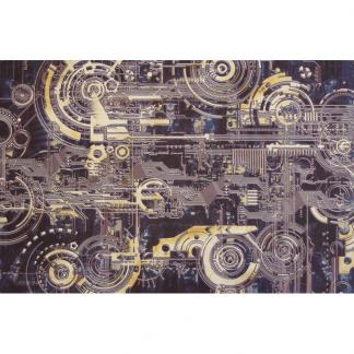 Card Game Mat - 60x40cm - Cyber 1