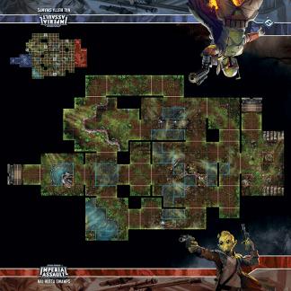 Imperial Assault: Nal Hutta Swamps Skirmish Map 1