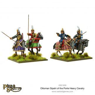 Ottoman Sipahi of the Porte heavy cavalry 1