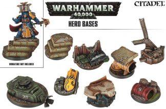Warhammer 40K Hero Basing 1