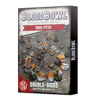 Blood Bowl: Ogre Team Pitch & Dugouts 1