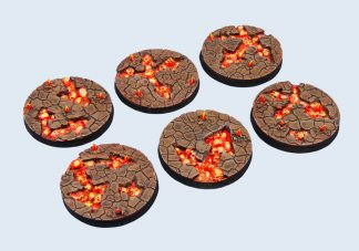 Chaos Waste Bases, Round 40mm (2) 1