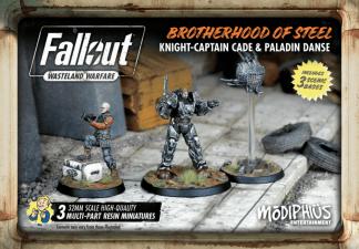 Fallout: Brotherhood of Steel Knight-Captain Cade & Paladin Danse 1