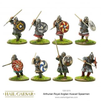 Arthurian Royal Anglian Huscarl spearmen 1