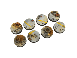 Highway Bases, 32mm Round (4) 1