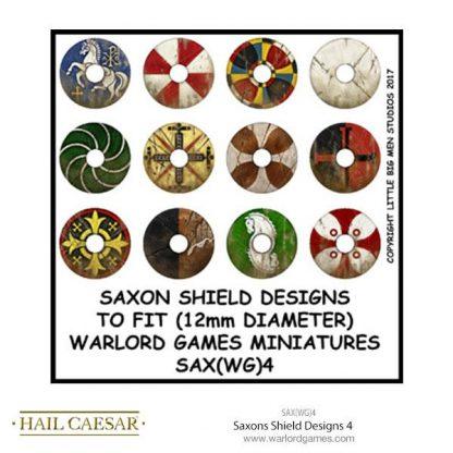 Saxons Shield Designs 4 (large round) 1