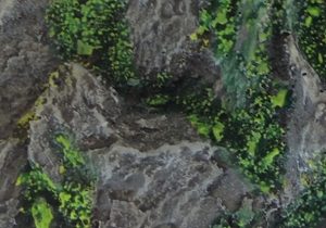 Rocky Outcrop: 20mm Square Bases (10) 1