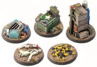 Fallout: Wasteland Warfare Objective Markers 2 1