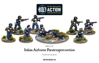 Italian Airborne Paratroopers Section 1