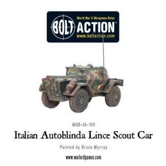 Italian Autoblinda Lince Scout Car 1