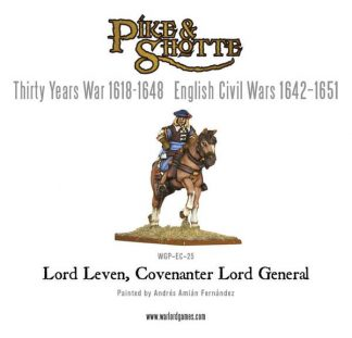 Lord Leven, Covenanter Lord General 1