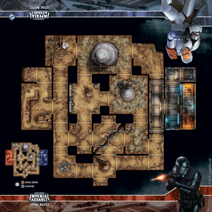 Imperial Assault: Lothal Wastes Skirmish Map 1
