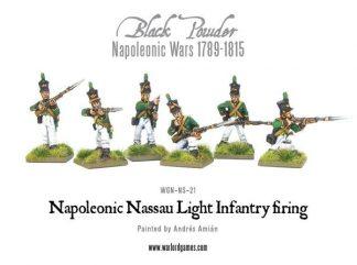 Nassau Light Infantry firing 1