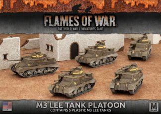 M3 Lee Tank Platoon (5x Plastic) 1