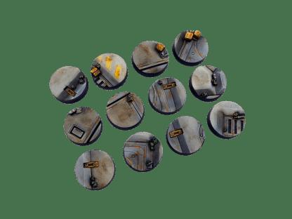 Terminus Bases, Round 25mm (5) 1