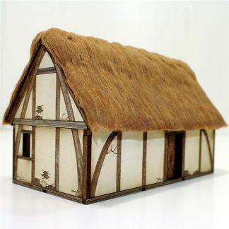 Pre-Painted Saxon Dwelling 1