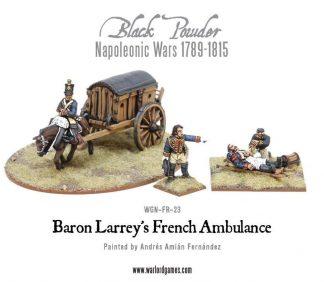 Napoleonic Wars: Baron Larrey's Flying Ambulance 1
