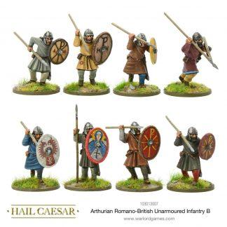 Arthurian Romano-British Unarmoured Infantry B 1