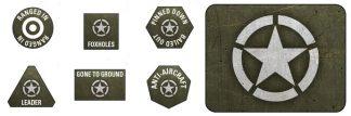 Late War American Token & Objective Set 1