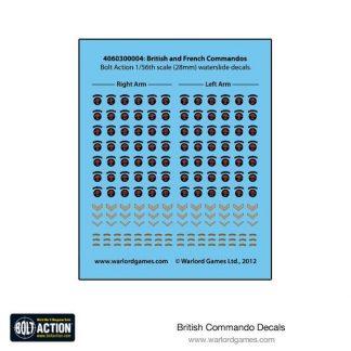 British Commandos Decals 1