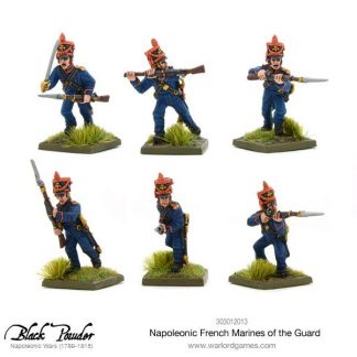 Napoleonic French Marines of the Guard 1