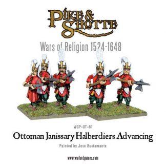 Ottoman Janissary Halberdiers Advancing 1