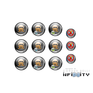 Infinity Tokens Deployables #2 (12) 1