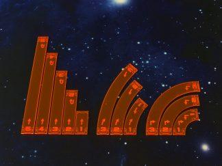 Space Fighter Move Templates Orange 1