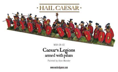 Caesarian Romans with Pilum (24) 2