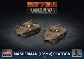 US M4 Sherman (105mm) Assault Gun Platoon 1