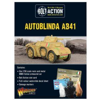 Italian Autoblinda AB41 1