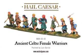 Ancient Celts Female Warriors pack 1