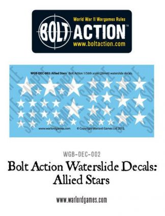 Allied Stars decal sheet 1