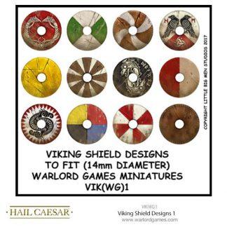 Viking Shield Designs 1 (small round) 1