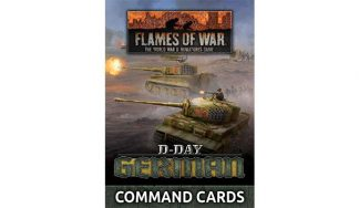 D-Day - German Command Cards 1