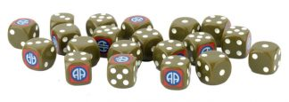 Flames of War: US 82nd Airborne Division Dice 1