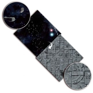 Gaming Mat: Asteroid Field / Space Station 1