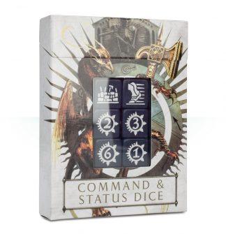 Age of Sigmar Command & Status Dice 1