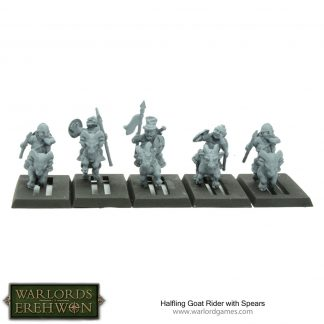 Halfling Goat Riders with Spears 1