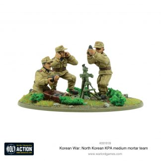 Korean War: North Korean KPA medium mortar team 1