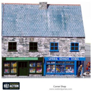 Corner Shop 28mm Photo-Realistic Kit Brick 1