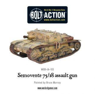 Italian Semovente 75/18 assault gun 1