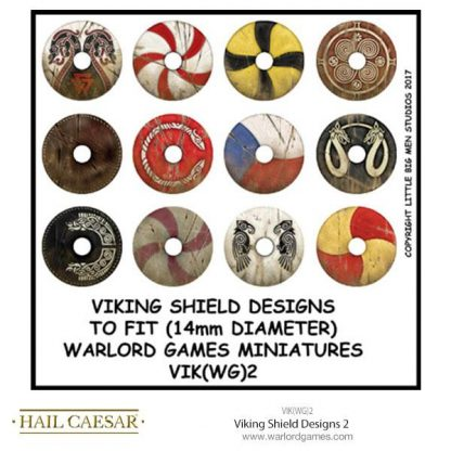 Viking Shield Designs 2 (small round) 1